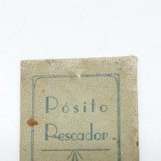 Coleccionismo deportivo: CARNET CREDENCIAL, IDENTIDAD POSITO PESCADORES ROSAS ( 1941 ). Lote 203116297