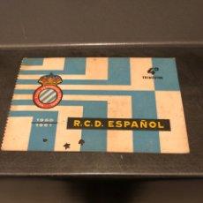 Coleccionismo deportivo: CARNET SOCIO RCD ESPAÑOL 60/61 4O TRIMESTRE. Lote 204466193