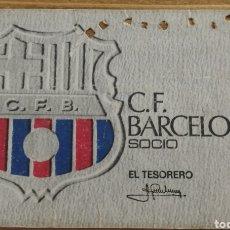 Coleccionismo deportivo: CARNET DE SOCIO 1972 FC BARCELONA. Lote 205712941