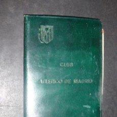 Collezionismo sportivo: CLUB ATLETICO DE MADRID CARNET DE SOCIO 1948 FUTBOL. Lote 212053865