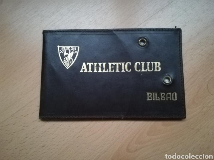 ANTIGUO CARNET DEL ATHLETIC DE BILBAO. (Coleccionismo Deportivo - Documentos de Deportes - Carnet de Socios)