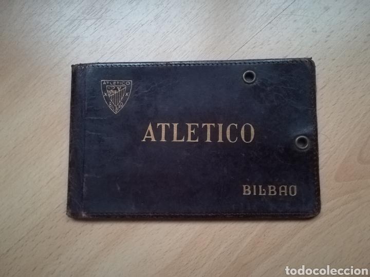 """ANTIGUO CARNET DEL """"ATLETICO"""" BILBAO. (Coleccionismo Deportivo - Documentos de Deportes - Carnet de Socios)"""