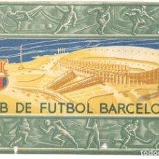 Coleccionismo deportivo: CARNET DE SOCIO - CLUB DE FUTBOL BARCELONA - 2º TRIMESTRE 1956.. Lote 215848153