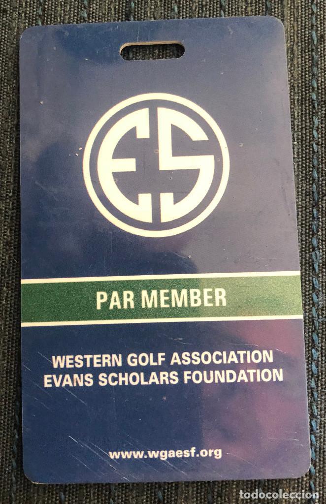 Coleccionismo deportivo: Curiosidad. Tarjeta de miembro del Club de golf de Butterfield, Chicago, USA. Año 2018. - Foto 2 - 217419407