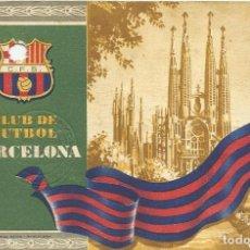 Coleccionismo deportivo: CARNET CLUB DE FÚTBOL BARCELONA. 1R TRIMESTRE 1955. SAGRADA FAMÍLIA. 12,7X8,7 CM. BUEN ESTADO.. Lote 219259731