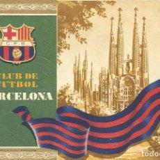 Coleccionismo deportivo: CARNET CLUB DE FÚTBOL BARCELONA. 2º TRIMESTRE 1955. SAGRADA FAMÍLIA. 12,7X8,7 CM. BUEN ESTADO.. Lote 219259792