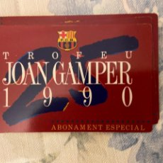 Coleccionismo deportivo: TROFEU JOAN GAMPER 1990 NUEVO. Lote 221520863