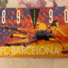 Coleccionismo deportivo: CARNET SOCIO BARCELONA 89 90 NUEVO. Lote 221521207