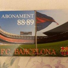 Coleccionismo deportivo: CARNET SOCIO BARCELONA 88 89 NUEVO. Lote 221521251
