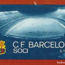 Coleccionismo deportivo: CARNET CLUB DE FÚTBOL BARCELONA. 1ER TRIMESTRE 1973. 8X11,5 CM. BUEN ESTADO CON SIGNOS DE LA EDAD.. Lote 221713443