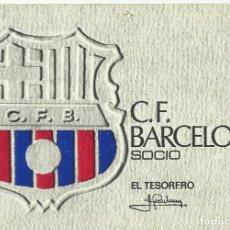 Coleccionismo deportivo: CARNET CLUB DE FÚTBOL BARCELONA. 2º TRIMESTRE 1972. 8X11,5 CM. BUEN ESTADO CON SIGNOS DE LA EDAD.. Lote 221713606