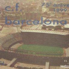 Coleccionismo deportivo: CARNET CLUB DE FÚTBOL BARCELONA. 3ER TRIMESTRE 1974. 8X11,5 CM. BUEN ESTADO CON SIGNOS DE LA EDAD.. Lote 221713840