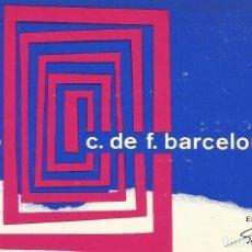 Coleccionismo deportivo: CARNET CLUB DE FÚTBOL BARCELONA. 4º TRIMESTRE 1969. 8X11,5 CM. BUEN ESTADO CON SIGNOS DE LA EDAD.. Lote 221714247