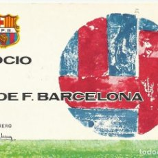 Coleccionismo deportivo: CARNET CLUB DE FÚTBOL BARCELONA. 4º TRIMESTRE 1970. 8X11,5 CM. BUEN ESTADO CON SIGNOS DE LA EDAD.. Lote 221714705