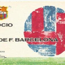 Coleccionismo deportivo: CARNET CLUB DE FÚTBOL BARCELONA. 3ER TRIMESTRE 1970. 8X11,5 CM. BUEN ESTADO CON SIGNOS DE LA EDAD.. Lote 221714895