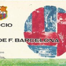 Coleccionismo deportivo: CARNET CLUB DE FÚTBOL BARCELONA. 2º TRIMESTRE 1970. 8X11,5 CM. BUEN ESTADO CON SIGNOS DE LA EDAD.. Lote 221715002