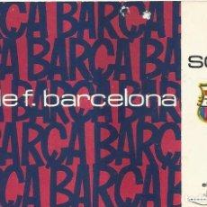 Coleccionismo deportivo: SOCIO CARNET CLUB DE FÚTBOL BARCELONA. 1ER TRIMESTRE 1971. 8X12 CM. BUEN ESTADO CON SIGNOS EDAD.. Lote 221715920