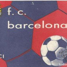 Coleccionismo deportivo: SOCIO CARNET CLUB DE FÚTBOL BARCELONA. 3ER TRIMESTRE 1975. 8X12 CM. BUEN ESTADO CON SIGNOS EDAD.. Lote 221716016