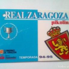 Coleccionismo deportivo: ABONO REAL ZARAGOZA TEMPORADA 94-95. Lote 226887272