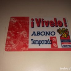 Coleccionismo deportivo: ABONO Ó CARNET BALONCESTO ZARAGOZA TEMPORADA 1995-96. Lote 227925155