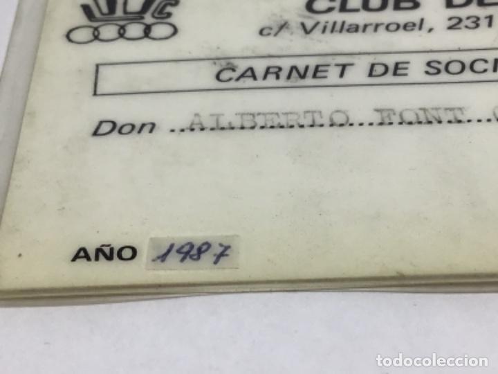 Coleccionismo deportivo: HERCULES LES CORTS - CARNET DE SOCIO AÑO 1987 - CLUB DE BEISBOL - Foto 2 - 234429215