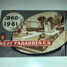 Coleccionismo deportivo: ABONO Ó CARNET REAL ZARAGOZA FÚTBOL TEMPORADA 1960/61 OCTUBRE 60. Lote 234995455
