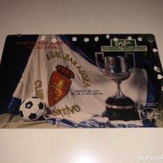 Coleccionismo deportivo: ABONO Ó CARNET REAL ZARAGOZA FÚTBOL TEMPORADA 1986/87 ANUAL. Lote 223954575