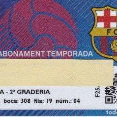 Coleccionismo deportivo: CARNET DE SOCIO DE FUTBOL CLUB BARCELONA TEMPORADA 2016/17 TRIBUNA 2º GRADERIA - BARÇA. Lote 236039760