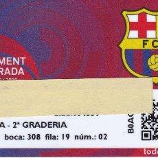 Coleccionismo deportivo: CARNET DE SOCIO DE FUTBOL CLUB BARCELONA TEMPORADA 2015/16 TRIBUNA 2º GRADERIA - BARÇA. Lote 236039870
