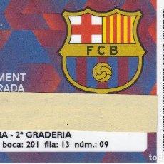 Coleccionismo deportivo: CARNET DE SOCIO DE FUTBOL CLUB BARCELONA TEMPORADA 2014/15 TRIBUNA 2º GRADERIA - BARÇA. Lote 236040135
