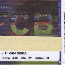 Coleccionismo deportivo: CARNET DE SOCIO DE FUTBOL CLUB BARCELONA TEMPORADA 2006/07 LATERAL 2ª GRADERIA (CAIXA-COCA-COLA-NIKE. Lote 236040725