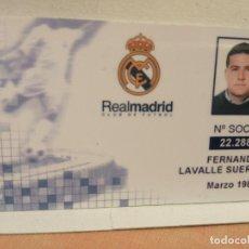 Coleccionismo deportivo: ANTIGUO CARNET REAL MADRID MUY BUEN ESTADO VER FOTOS. Lote 238186845