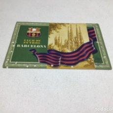 Coleccionismo deportivo: CARNET DE SOCIO F.C. BARCELONA - ANUAL AÑO 1955. Lote 243856390