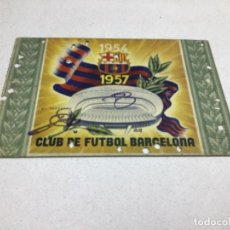 Coleccionismo deportivo: CARNET DE SOCIO F.C. BARCELONA - ANUAL AÑO 1957. Lote 243856910