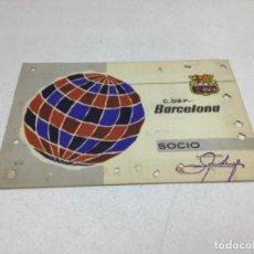 Coleccionismo deportivo: CARNET DE SOCIO F.C. BARCELONA - ANUAL AÑO 1964. Lote 243859075