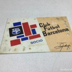 Coleccionismo deportivo: CARNET DE SOCIO F.C. BARCELONA - ANUAL AÑO 1966. Lote 243859535