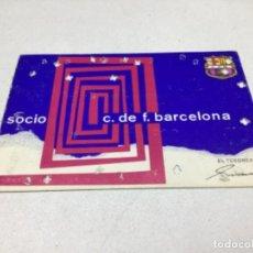 Coleccionismo deportivo: CARNET DE SOCIO F.C. BARCELONA - ANUAL AÑO 1969. Lote 243860140