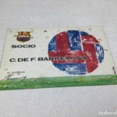 Coleccionismo deportivo: CARNET DE SOCIO F.C. BARCELONA - ANUAL AÑO 1970. Lote 243860465