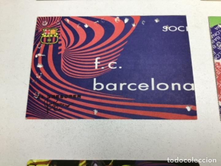 Coleccionismo deportivo: LOTE CARNETS DE SOCIO F.C. BARCELONA - ANUAL - DESDE AÑO 1971 HASTA 1987 - SON 17 CARNETS - Foto 8 - 243867345