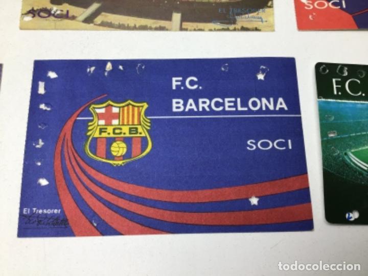 Coleccionismo deportivo: LOTE CARNETS DE SOCIO F.C. BARCELONA - ANUAL - DESDE AÑO 1971 HASTA 1987 - SON 17 CARNETS - Foto 11 - 243867345