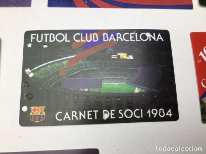 Coleccionismo deportivo: LOTE CARNETS DE SOCIO F.C. BARCELONA - ANUAL - DESDE AÑO 1971 HASTA 1987 - SON 17 CARNETS - Foto 16 - 243867345