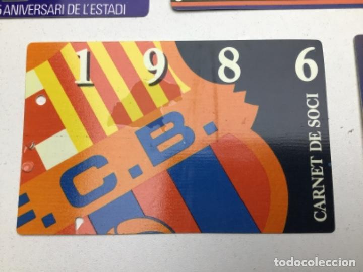 Coleccionismo deportivo: LOTE CARNETS DE SOCIO F.C. BARCELONA - ANUAL - DESDE AÑO 1971 HASTA 1987 - SON 17 CARNETS - Foto 18 - 243867345