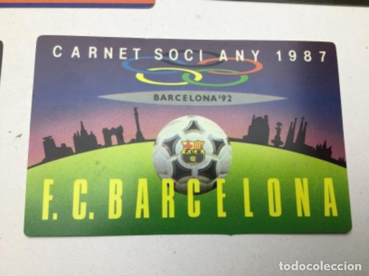 Coleccionismo deportivo: LOTE CARNETS DE SOCIO F.C. BARCELONA - ANUAL - DESDE AÑO 1971 HASTA 1987 - SON 17 CARNETS - Foto 19 - 243867345