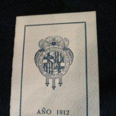 Coleccionismo deportivo: CURIOSO CARNET 1912 SINDICATO PERIODISTAS DEPORTIVOS BARCELONA. Lote 243982160