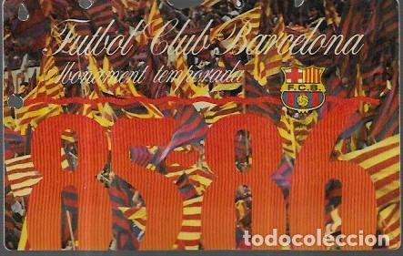 ABONAMENT FUTBOL CLUB BARCELONA 85-86 (Coleccionismo Deportivo - Documentos de Deportes - Carnet de Socios)