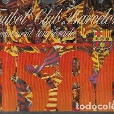 Coleccionismo deportivo: ABONAMENT FUTBOL CLUB BARCELONA 85-86. Lote 244595020