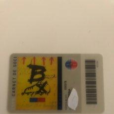 Coleccionismo deportivo: CARNET MEMBER SOCIO FC BARCELONA CENTENARI 1999 CARD BARÇA. Lote 249549565