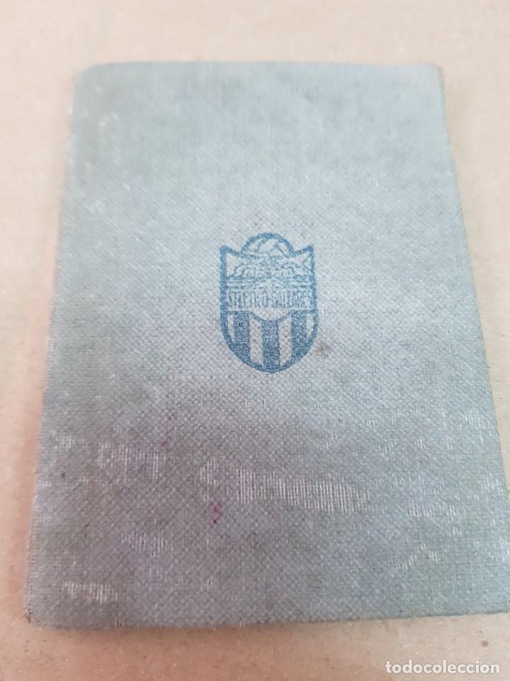 ANTIGUO CARNET FUTBOL ATLETICO BALEARES PALMA DE MALLORCA 1950 (Coleccionismo Deportivo - Documentos de Deportes - Carnet de Socios)