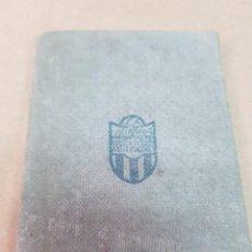 Coleccionismo deportivo: ANTIGUO CARNET FUTBOL ATLETICO BALEARES PALMA DE MALLORCA 1950. Lote 253431960