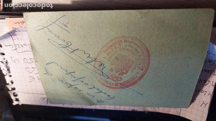 Coleccionismo deportivo: CARNET DE LA ESCUELA NACIONAL DE PREPARADORES DE BALONCESTO OYENTE D. JOSE ALBERTO HERRERAS AÑO 1955 - Foto 2 - 260767860
